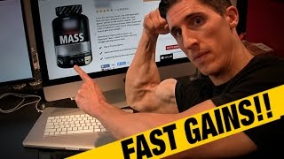 "How to ""Pack on Mass Fast!""... (SUPPLEMENT)"