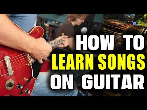 The Ultimate Method to Learn Songs on Guitar