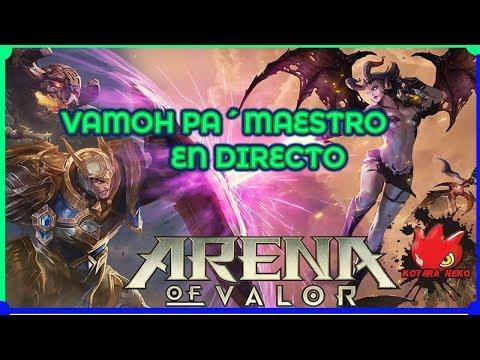 Vamoh pa´maestro en directo: arena of valor