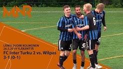 Länsi-Suomi Kolmonen FC Inter Turku vs Wilpas 3-1 (0-1)
