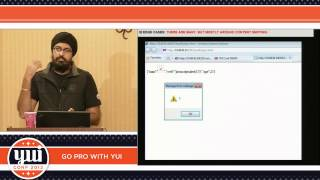 Bishan Kochar : Secure Coding with YUI