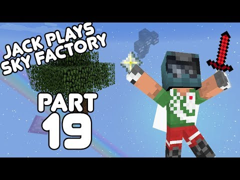 Enter The Wither Jack Plays Sky Factory Part