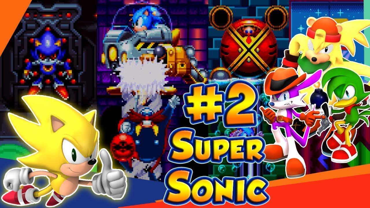 ABM: Sonic Mania!! Sonic & Tails!! Walkthrough 2 Gameplay!! HD - YouTube