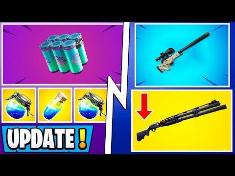 *ALL* Fortnite 9.40 Changes! | Combat Shotgun Nerf, Shield Update, Vault!