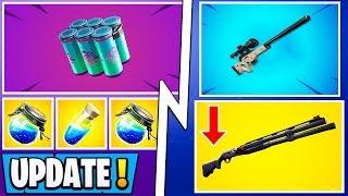 *ALL* Fortnite 9.40 Changes!   Combat Shotgun Nerf, Shield Update, Vault!