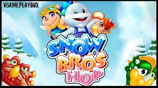 Snow Bros Hop (By ISAC Entertainment Co., Ltd) iOS / Android Gameplay Video