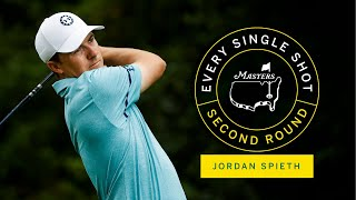 Every Single Shot From Jordan Spieth's Second Round | The Masters