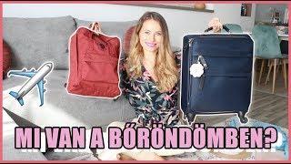 Mi van a bőröndömben 2019 - Kézipoggyász + Hátizsák | Viszkok Fruzsi