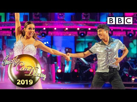 Karim and Amy Salsa to 'Who Let the Dogs Out' - Week 5 | BBC Strictly 2019