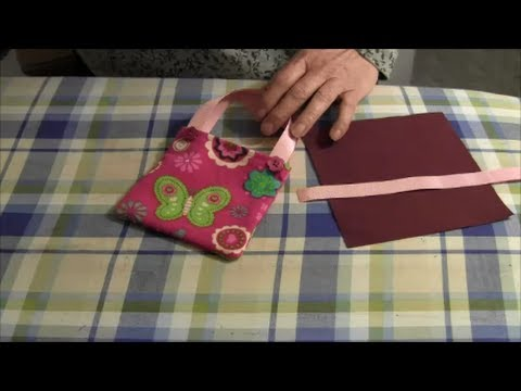 How to Make A Doll Tote Bag (American Girl Doll)