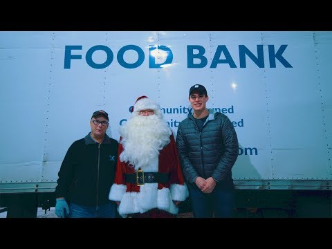 Free Food Delivery LIVE - Calgary Food Bank Charity Livestre