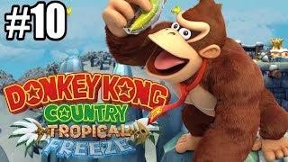 PUSTYNNE ZŁO - Let's Play Donkey Kong Country Tropical Freeze #10 [NINTENDO SWITCH]