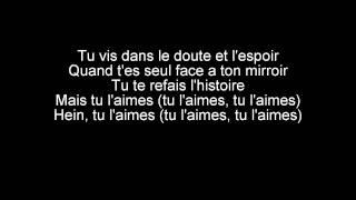 Black M - French Kiss (paroles)