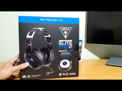 Turtle Beach Elite Pro 2 + SuperAmp for PS4 and PC [Unboxing + Review]