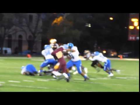 Thurman quarterback sack Patterson/Dunbar football 9/25/15