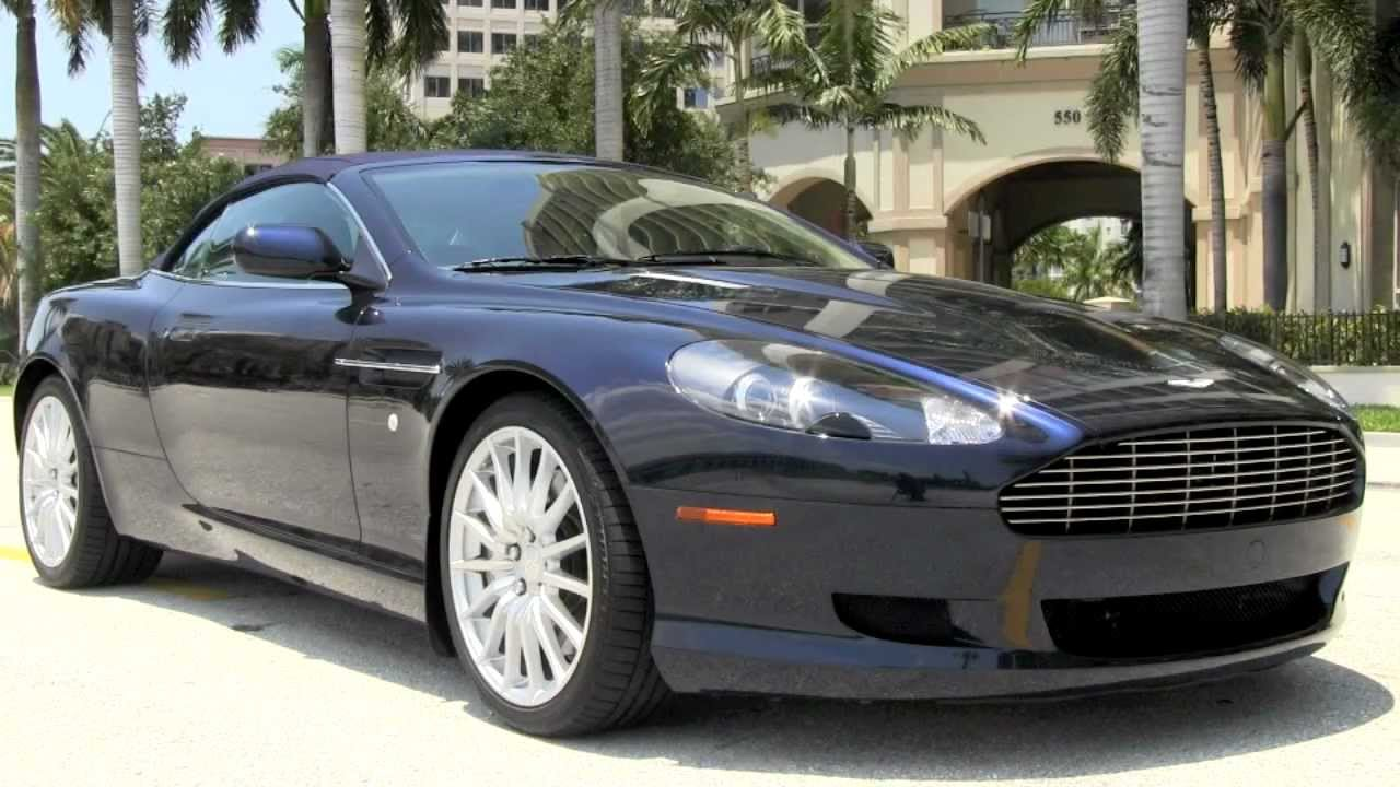 2006 Aston Martin DB9 Volante Convertible Midnight Blue ...