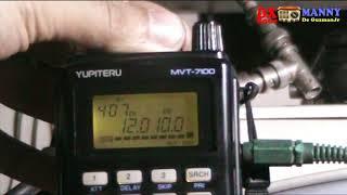 "Radyo Pilipinas ""The Voice of the Philippines Worldwide"" - 12010 Khz shortwave Yupiteru MVT-7100"