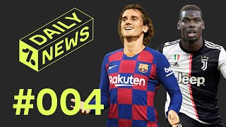 On today's daily news - barca plot griezmann exit, pogba wants juve return, west ham stun chelsea a transfer round up and thursday favourites! ► liked the vi...