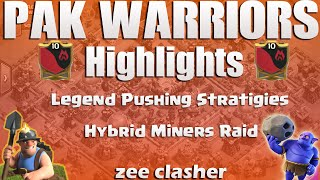Clash Of Clans | Legend Pushing Series | How to Triples Max TH 11 | Insane 3 Star Attacks | Miners