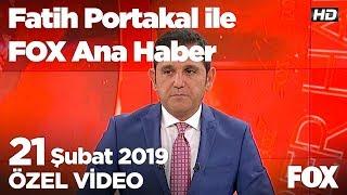 Çanakkale'de 5 büyüklüğünde deprem... 21 Şubat 2019 Fatih Portakal ile FOX Ana Haber
