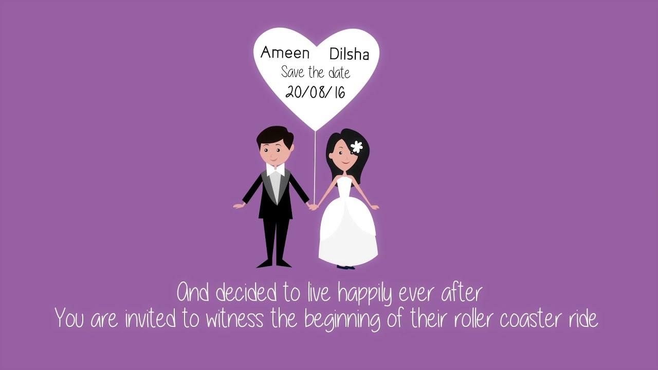 Kerala Muslim wedding I Save the Date video I Ameen Dilsha YouTube – Wedding Save the Date Video