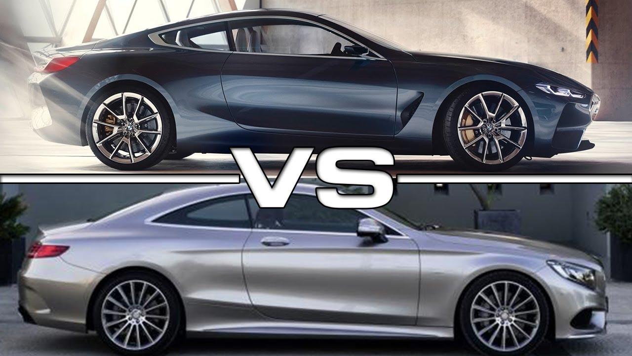 2018 BMW 8 Series Vs 2016 Mercedes S-Class Coupe