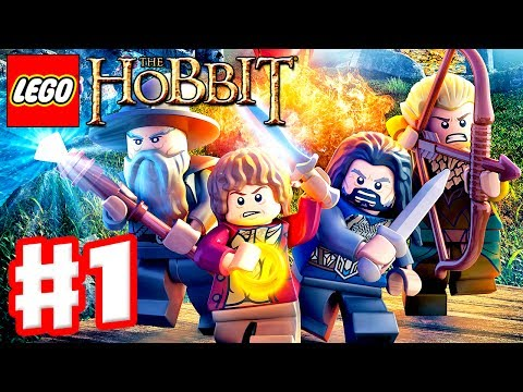 LEGO The Hobbit - Gameplay Walkthrough Part 1 - Greatest Kingdom in Middle Earth (Xbox One, PS4, PC)
