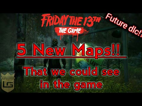 Friday the 13th the Game   Five NEW Maps possible Future DLC!!