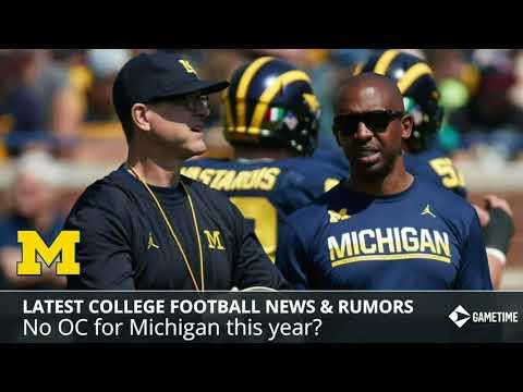 College Football News & Rumors: Michigan's Jim Harbaugh Without OC, Oklahoma QB Kyler Murray Update