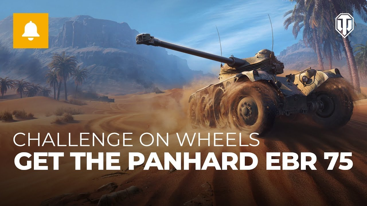 Wargaming is giving the premium EBR 75 FL 10 for free, but you have