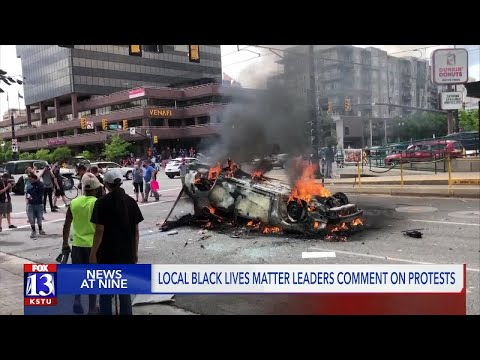 'Black Lives Matter did not hold a protest yesterday': BLM Utah addresses SLC protest