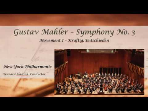 Mahler Symphony No. 3 - Full Performance - New York Philharmonic