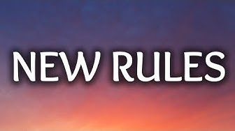 Dua Lipa ‒ New Rules (Lyrics) 🎤
