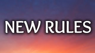 Video Dua Lipa ‒ New Rules (Lyrics) 🎤 download MP3, 3GP, MP4, WEBM, AVI, FLV Juli 2018
