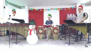 """Jingle Bell Rock"" (Jam Jar Percussion Cover)"