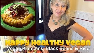 Low Fat Plantains, Black Beans & Rice Recipe