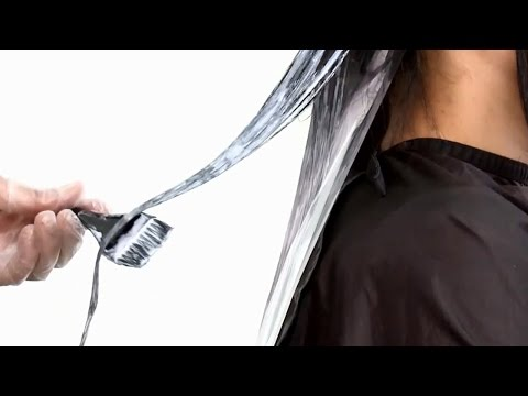 Омбре наоборот светлые волосы с темными кончиками