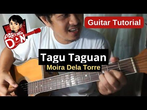 Tagu-Taguan - plucking and chords (Moira Dela Torre) guitar tutorial ni Pareng Don