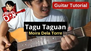 Tagu Taguan Guitar Tutorial - Chords/plucking