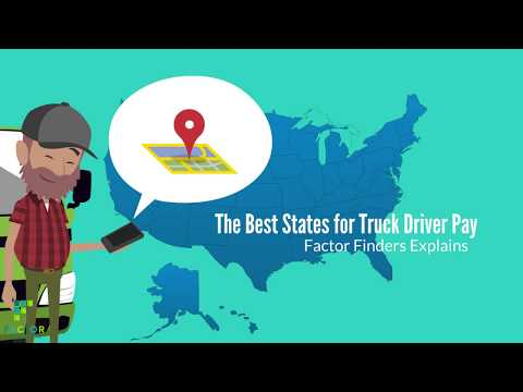 The Best States for Truck Driver Pay