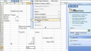 Как в Excel сделать  Урок 12 Дополнительные средства ввода