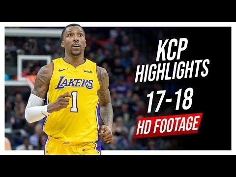 Lakers SG Kentavious Caldwell-Pope 2017-2018 Season Highlights ᴴᴰ
