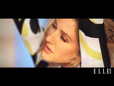 Word Games with Ellie Goulding - ELLE UK July cover star