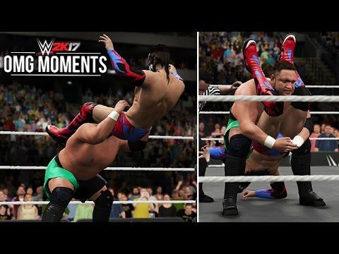 WWE 2K17: Samoa Joe's OMG Moment, Entrance, Signatures & Finishers!