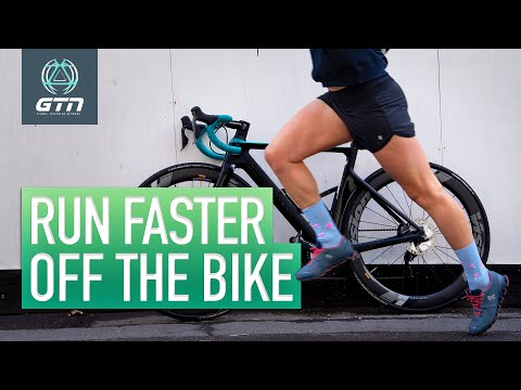 How To Run Faster Off The Bike | Brick Running Tips For Triathlon