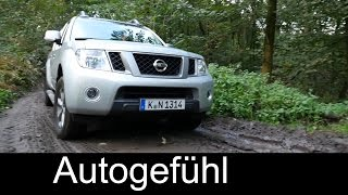 2015 Nissan Navara Frontier test drive Review with soft offroad - Autogefühl