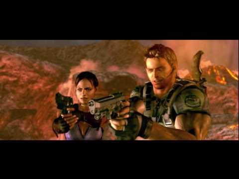 Resident Evil 5 Hd Chapter 6 3 Volcano Last Battle Wesker