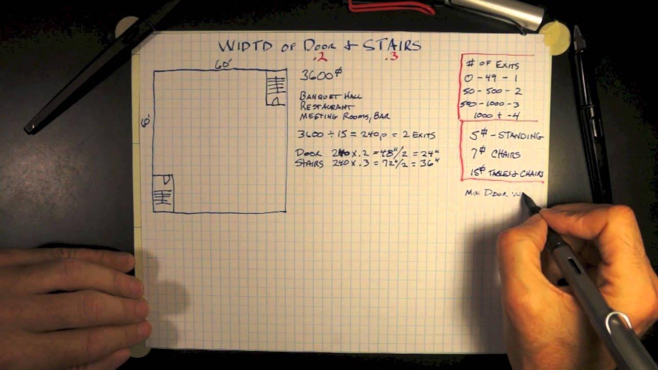 Door & Stair Width 7-0