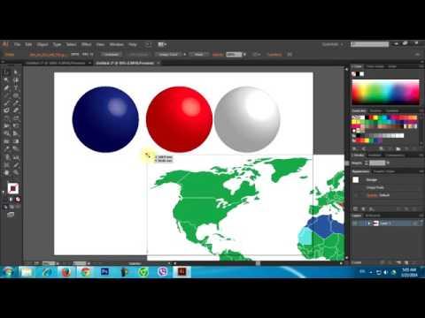 9 Học Adobe Illustrator   Vẽ quả táo 3d bằng AI   Học Thiết kế đồ họa