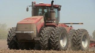 Case Steiger 500 HD Tractor, Near Virgil, Illinois on 5-7-2013